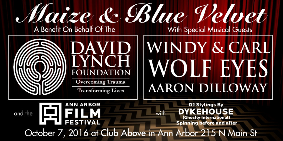 David Lynch Foundation Benefit at Club Above